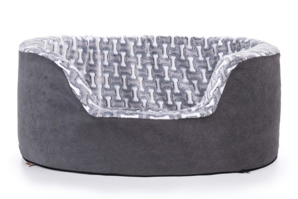 Wikopet pet bed- Opulent Tall-Wall Bone Bed
